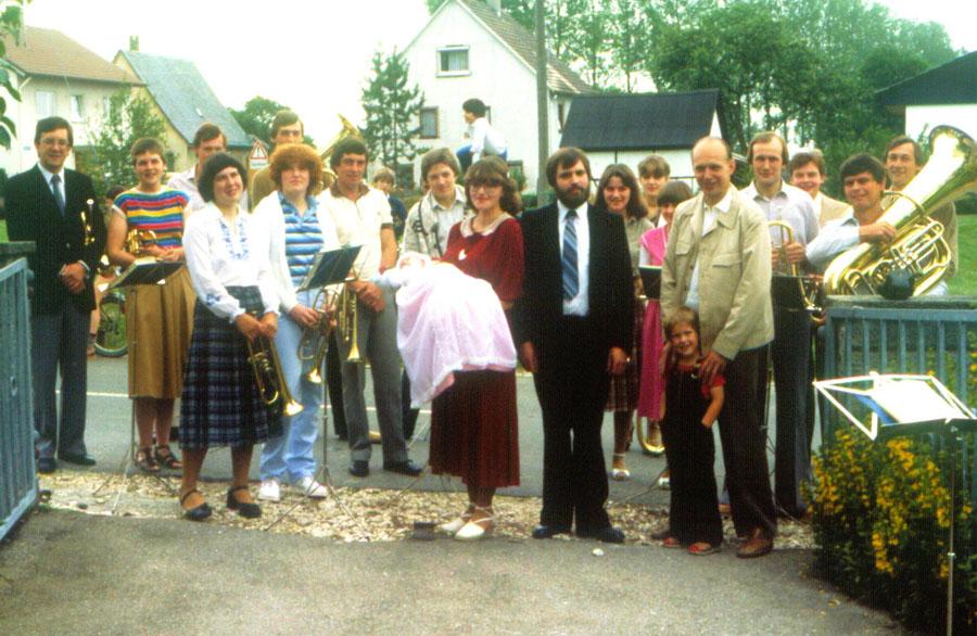 Spiel bei der Taufe 1981