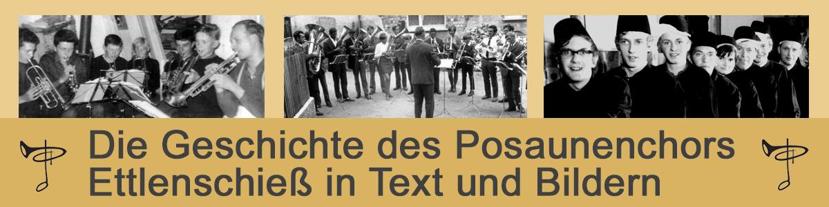 Posaunenchor Ettlenschieß: Unsere Geschichte